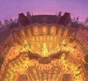 Affiche Lille La palais des beaux arts