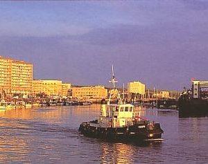 affiche le port de boulogne sur mer