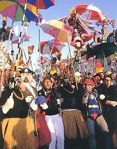 affiche le carnaval de dunkerque