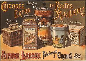 Affiche Leroux boites