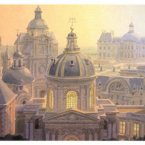 Affiche Paris XVIIème siècle