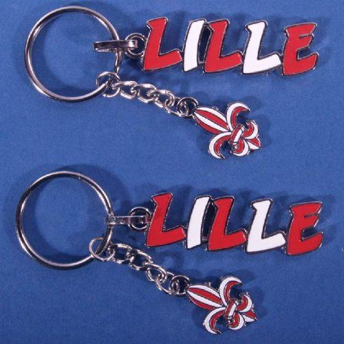Porte-clés Lille breloques