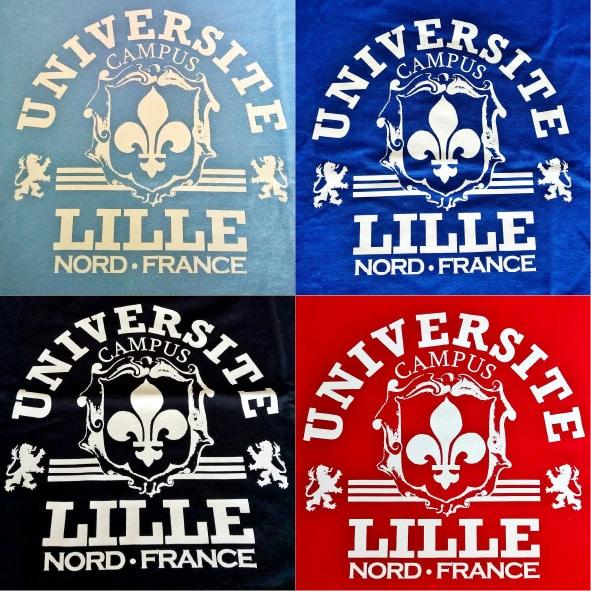 T-Shirt Université Lille enfant