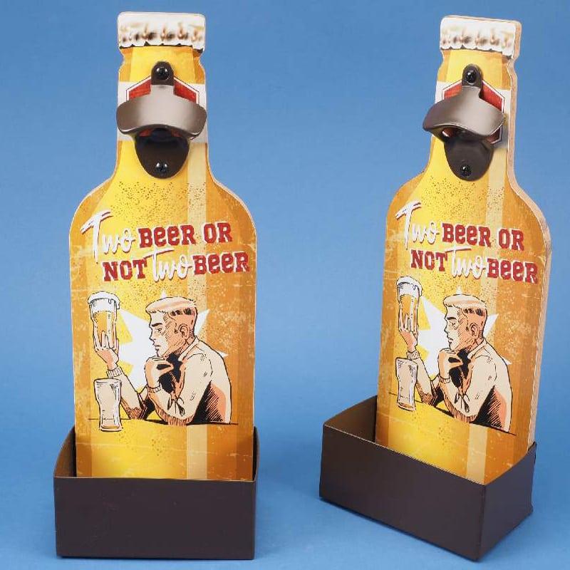 DECAPSULEUR MURAL TWO BEER OR NOT TO BEER