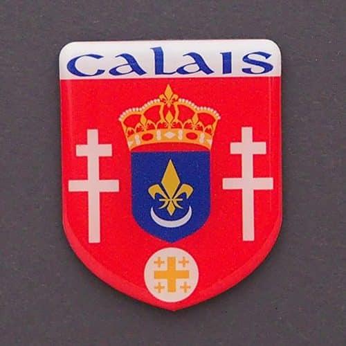 MAGNET BLASON CALAIS