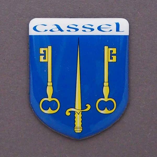 magnet blason cassel