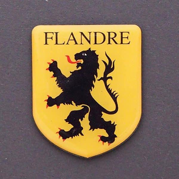 MAGNET BLASON FLANDRE