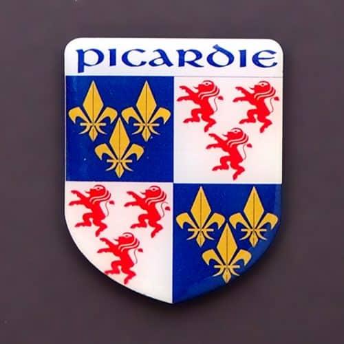 magnet blason picardie