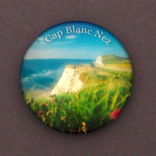 MAGNET BULLE CAP BLANC NEZ