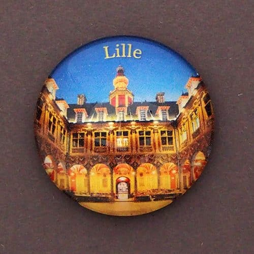 MAGNET BULLE LILLE BOURSE