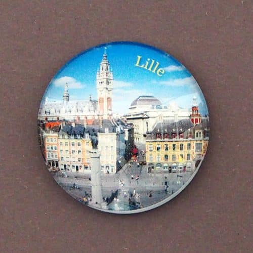 MAGNET BULLE LILLE GRAND PLACE