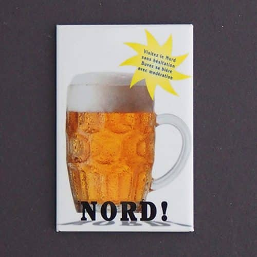 MAGNET PLATE BIERE NORD