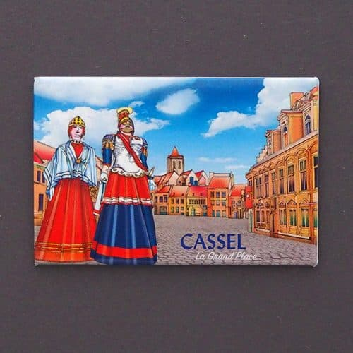 magnet plate cassel grand place dessin