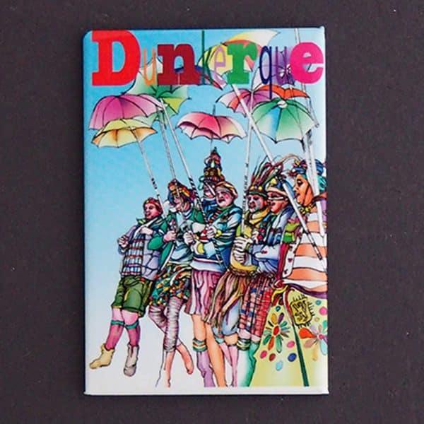 magnet plate dunkerque carnaval dessin