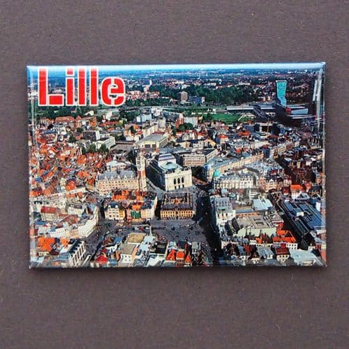 MAGNET PLATE LILLE AERIEN