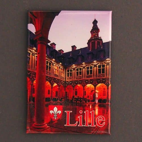 MAGNET PLATE LILLE BOURSE