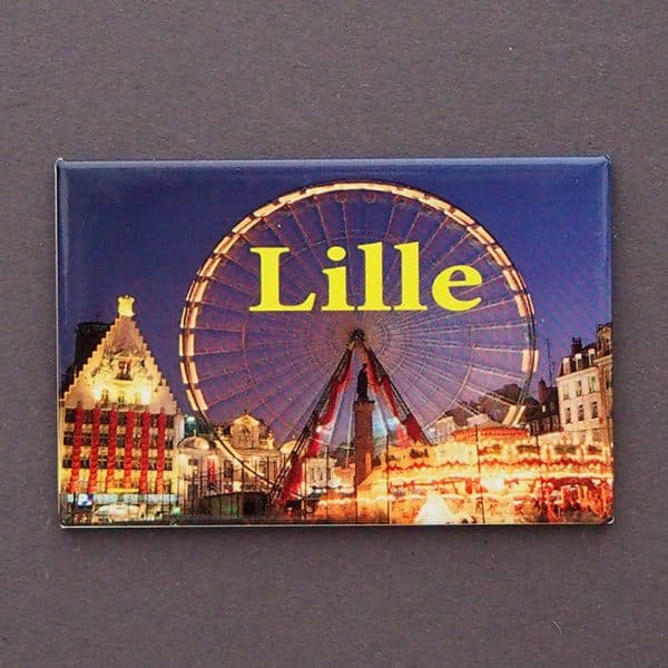 MAGNET PLATE LILLE ROUE