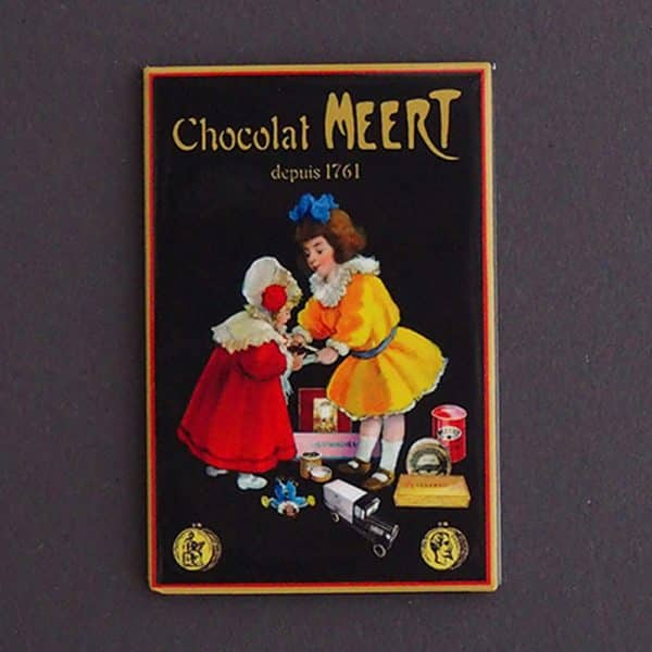MAGNET PLATE MEERT CHOCOLAT