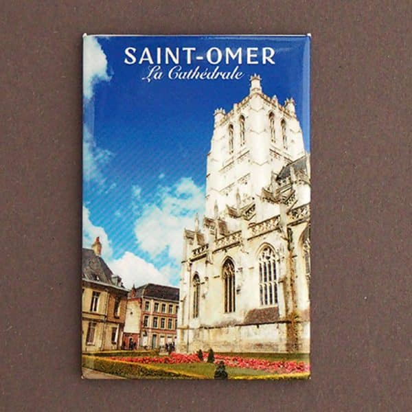 magnet plate st omer cathedrale