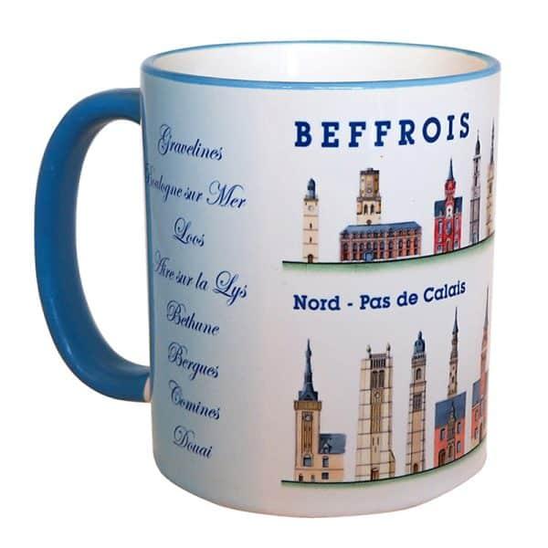 mug beffrois bleu