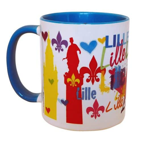 MUG LILLE JAUNEROUGE